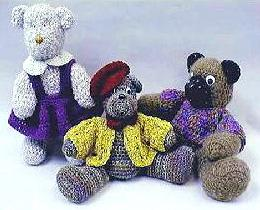 Trio of Teddys